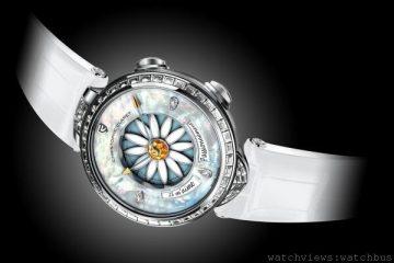 [2014 Basel] Margot 他愛我…他不愛我:Christophe Claret首款為女士們度身訂製的複雜腕錶