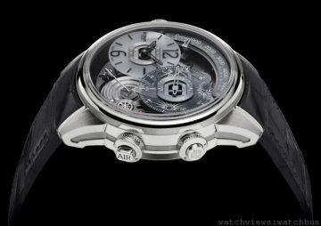 [2014 Basel] Breva Génie 01腕錶:氣象瞬息萬變,腕上晴空萬里!