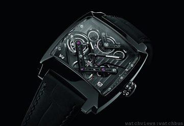 [2014 Basel] 革命性進化:世界首款使用皮帶傳動的陀飛輪腕錶—TAG Heuer MONACO V4 TOURBILLON