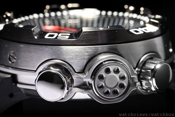 Eco-Drive Promaster Aqualand光動能專業潛水錶的錶殼設計靈感來自蚌類,極為堅固強悍。