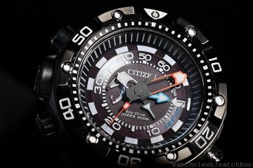 [2014 Basel] 光動能運動夥伴:CITIZEN Eco-Drive Promaster Aqualand Depth Meter專業級光動能潛水錶