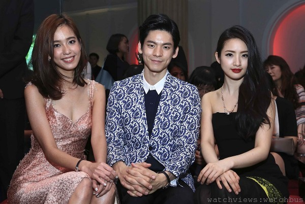 陳庭妮、林柏宏與林依晨出席L'Odyssée de Cartier頂級珠寶展派對