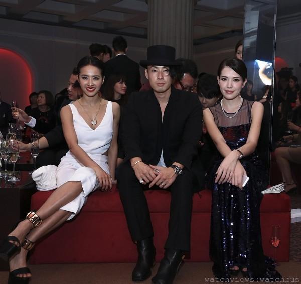 蔡依林、吳建豪與許瑋甯出席L'Odyssée de Cartier頂級珠寶展派對