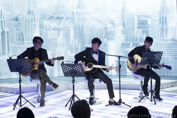 L'Odyssée de Cartier頂級珠寶展派對上,林俊傑現場精湛演唱