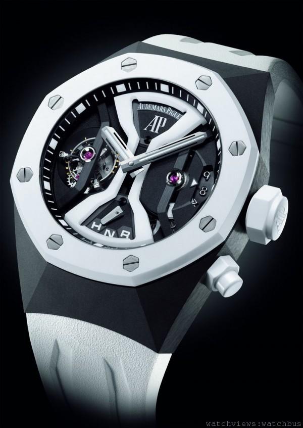 愛彼皇家橡樹概念GMT陀飛輪腕錶  44毫米,售價NTD$6,648,000