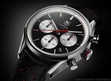 製錶的藝術:TAG Heuer卡萊拉Calibre CH 80計時碼錶