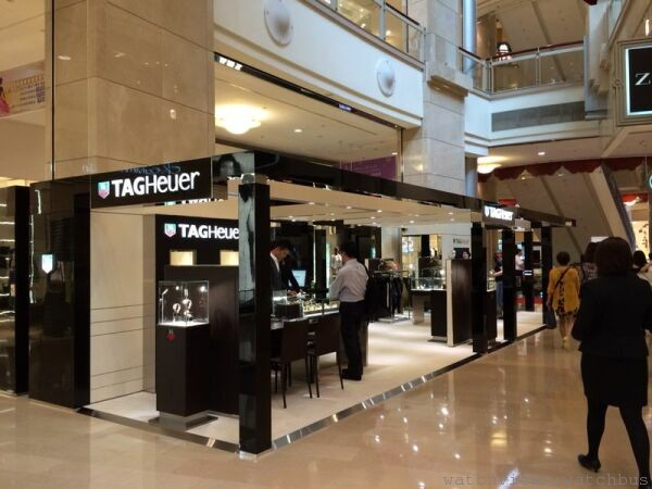 TAG Heuer 台北101專賣店 重新開幕