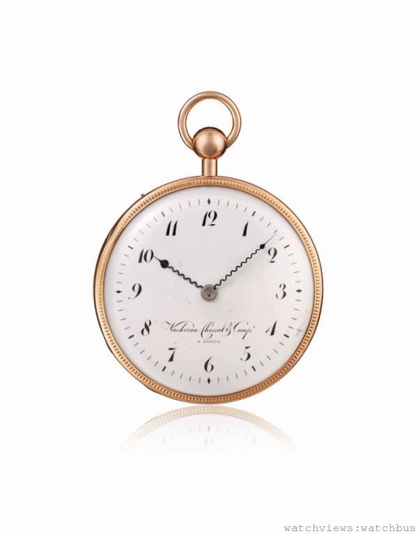 江詩丹頓1812年二問報時懷錶