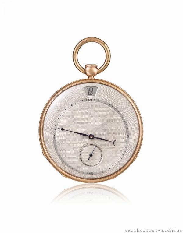 江詩丹頓1827年二問報時跳時懷錶
