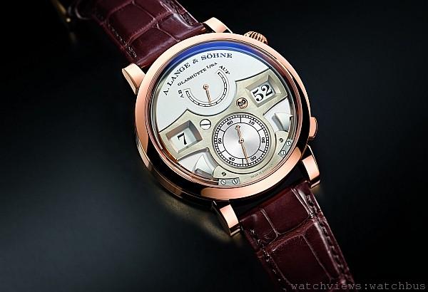 詩韻悠揚的報時樂聲:朗格呈獻LANGE ZEITWERK STRIKING TIME 18K玫瑰金錶款