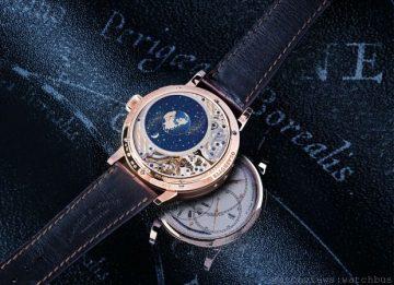 藍月亮精確無比:A.Lange& Söhne朗格月相腕錶