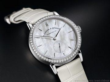 兩枚精密準確的朗格A. Lange & Söhne Saxonia女裝腕錶瑰寶