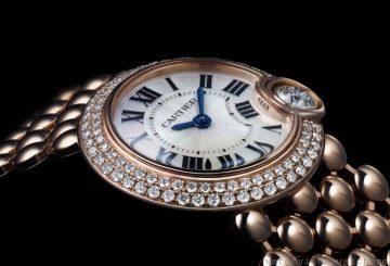 卡地亞Ballon de Cartier系列推出Ballon Bleu de Cartier超薄腕錶及Ballon Blanc de Cartier珠寶腕錶