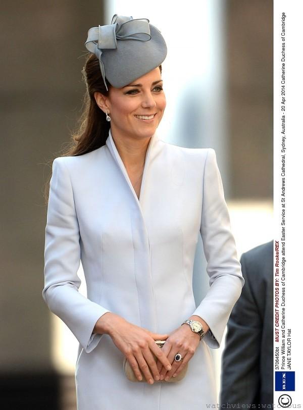 凱特王菲已成為時尚新指標,她所配戴的卡地亞Ballon Bleu de Cartier動靜皆宜,深受注目。
