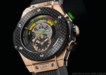 2014 年FIFA巴西世界盃官方手錶:HUBLOT宇舶表Big Bang Unico 雙逆跳計時腕錶