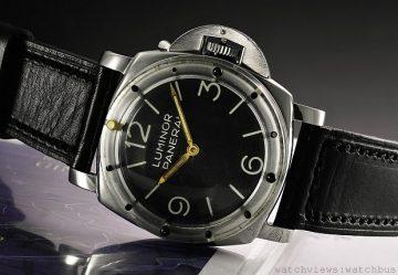 罕有Panerai Luminor 6152/1 腕錶於蘇富比日內瓦拍賣會上以425,000 瑞士法郎成交