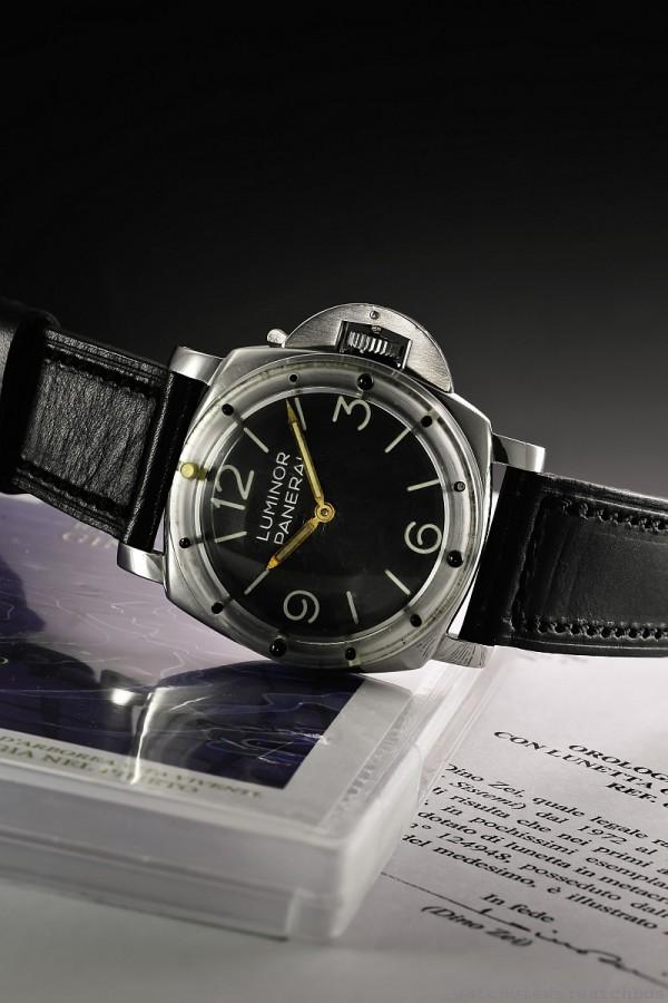 Panerai Luminor 6152/1 腕錶於蘇富比日內瓦拍賣會締造成交紀錄