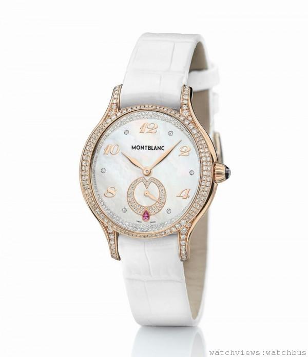 106887萬寶龍摩納哥葛莉絲王妃系列限量29腕錶,NT$1,362,800。