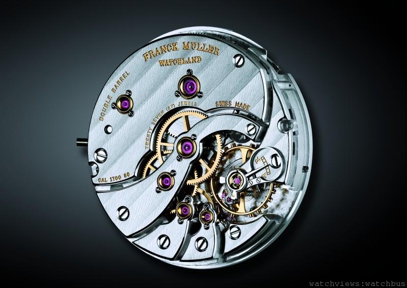 獨特機芯的魅力:Franck Muller Cintree Curvex七日鍊錶