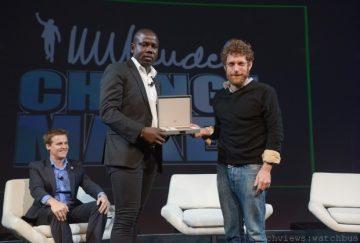 萬寶龍贊助PTTWO全球高峰會曼德拉夢想改革家獎,好萊塢巨星莎朗史東等知名影響力人士榮譽獲獎!