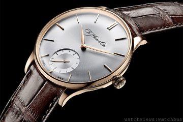 體現高級製錶創業精神:H. Moser & Cie.全新Venturer系列Small Seconds小秒針腕錶