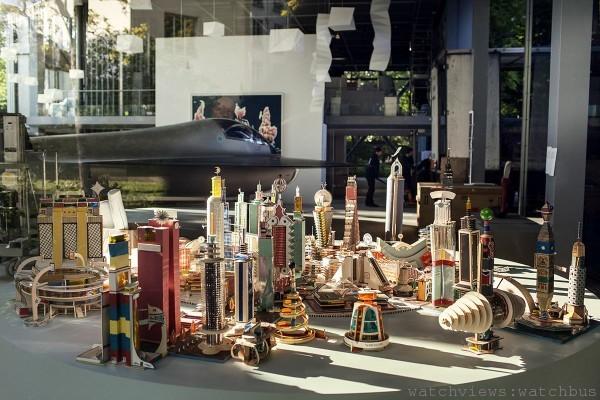 卡地亞當代藝術基金會30 週年展覽第一波展《感動追憶》(Vivid Memories)( 2014.05.10 ~9.21)展場一隅