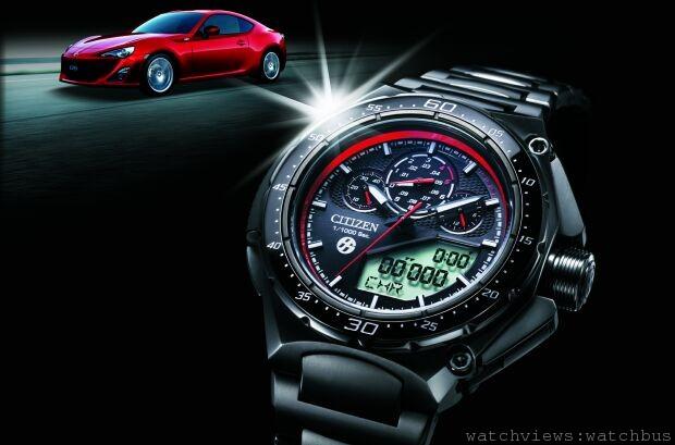 CITIZEN x TOYOTA86超完美聯名第二代限量錶款強勢登場