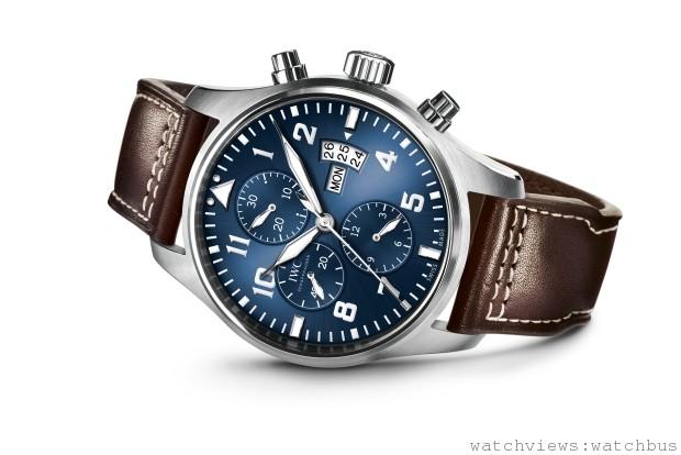 IWC萬國錶發表飛行員計時腕錶「小王子」特別版Pilot's Watch Chronograph Edition Petit Prince