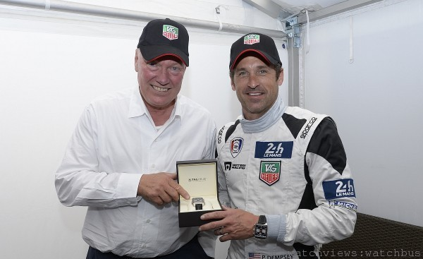 Patrick Dempsey與Jean-Claude Biver