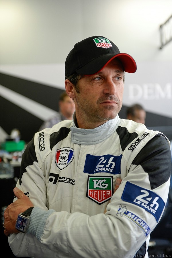 派屈克・丹普西是影集《實習醫生(Grey's Anatomy)》的男主角,擁有好萊塢當紅演員與國際頂級車手及車隊老闆的雙重身分。