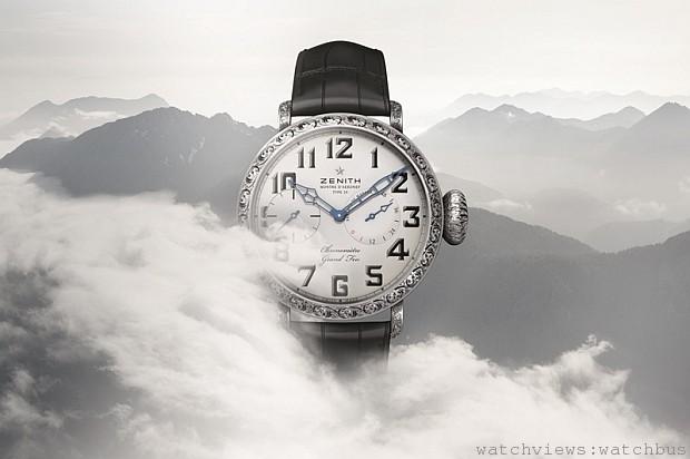 挑戰極限高峰:Zenith Pilot飛行員系列Type 20 Grand Feu大明火琺瑯腕錶