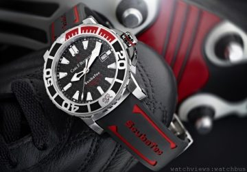 決勝時刻:贏得寶齊萊柏拉維ScubaTec潛水腕錶特別版