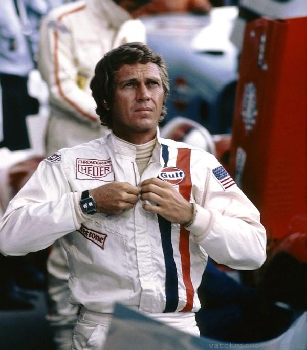 Steve McQueen與TAG  Heuer曾在螢幕上一起征戰Le Mans