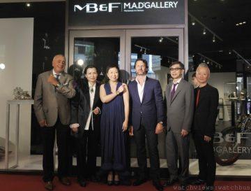 MB&F在文華精品開設亞洲第一間機械藝術殿堂M.A.D.Gallery
