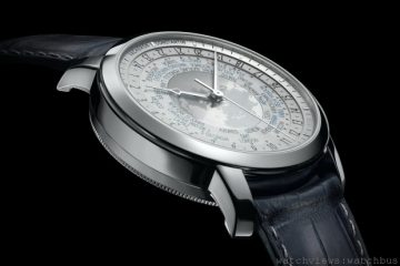 [2014 W&W預報] 江詩丹頓Traditionnelle World Time Collection Excellence Platine世界時間腕錶限量鉑金珍藏系列