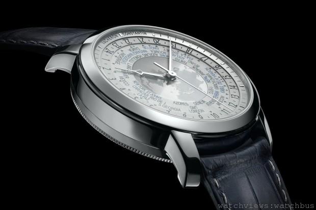 [2014 W&W預報] 江詩丹頓Traditionnelle World Time Collection Excellence Platine世界時間腕錶限量鉑金珍藏系列