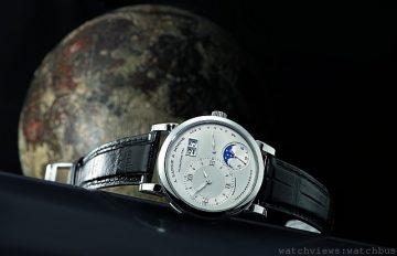 朗格2014強作TREEALUNA現身「湛藍的星空」月相腕錶展覽
