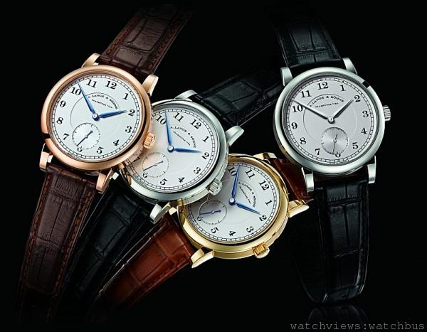 1815腕錶,18K 玫瑰金、白金、黃金或鉑金錶殼,錶徑40 毫米,時、分、小秒針,L051.1 手上鍊機芯,動力儲存55小時,藍寶石水晶玻璃鏡面及後底蓋,鱷魚皮錶帶。
