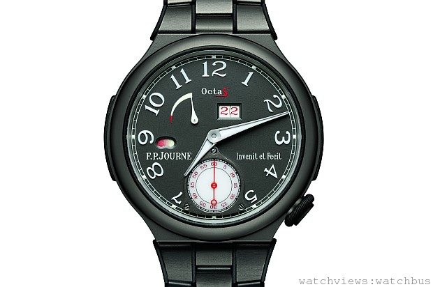 F.P.JOURNE發表lineSport運動系列全新錶款:OCTA SPORT鈦金屬版本