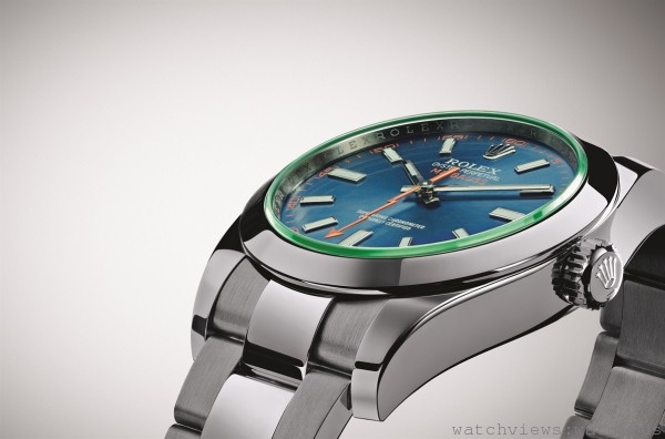 獨特且具象徵意義的美學特色:Rolex Milgauss 116400GV