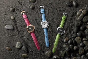 Panerai沛納海推出一系列全新十一款繽紛優雅皮錶帶