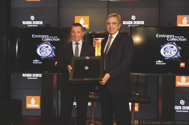 Roger Dubuis羅杰杜彼與阿聯酋航空攜手合作以《改革時刻》(Time for Change)計劃來改善兒童生活品質