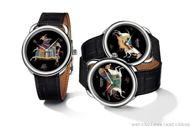 Hermès Arceau Cheval d'Orient 愛馬仕漆繪工藝駿馬腕錶