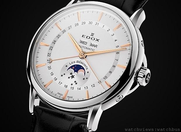 130周年的瑞士製錶傳承:瑞士依度表EDOX全新鉅作Les Bemonts薄曼系列上市