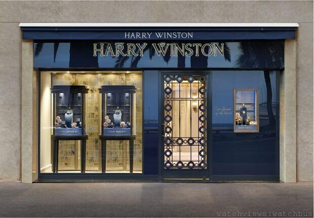 「鑽石之王」海瑞溫斯頓坎城品牌專門店盛大開幕