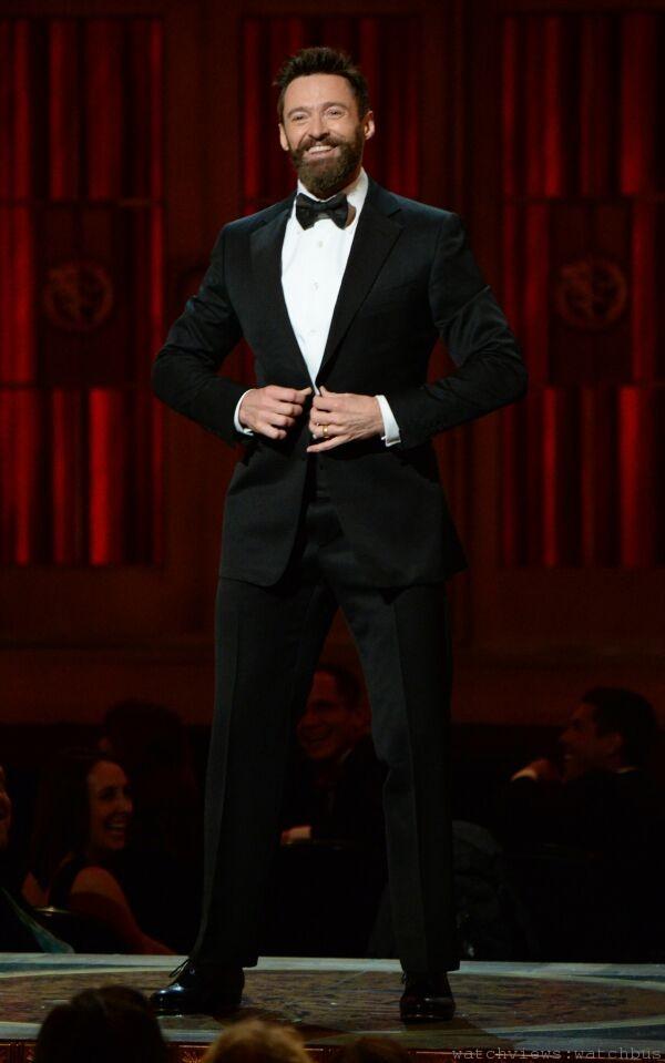 好萊塢巨星休傑克曼(Hugh Jackman)擔綱主持第68屆東尼獎頒獎典禮,選擇配戴萬寶龍Meisterst_ck Heritage大師傑作傳承系列玫瑰金萬年曆腕錶與他相伴完成最佳演出。