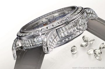 [2014 pre-W&W] 璀璨鑽錶綻放耀眼星輝:積家超卓傳統複雜功能大師系列腕錶