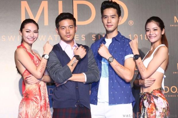 紀念登台十周年:美度表推出Multifort先鋒系列台北時區台灣限量錶與首款潛水計時腕錶