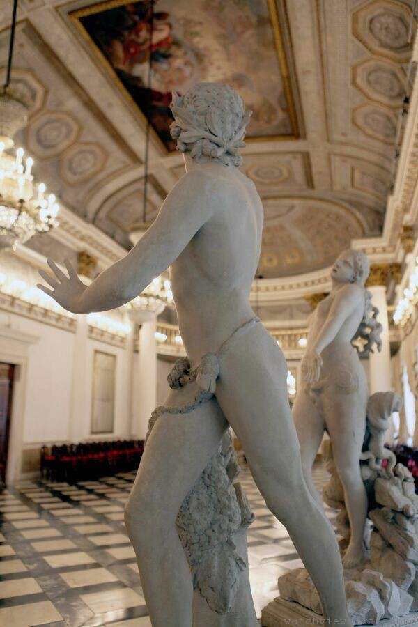 威尼斯科雷爾博物館館藏─安東尼奧_卡諾瓦雕塑作品《Orfeo ed Euridice》,1776