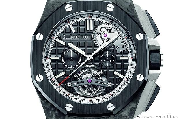 [2014 香港W&W預報]愛彼發表皇家橡樹離岸型自動上鍊陀飛輪計時碼錶